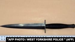 Нож, который использовался для убийства депутата-лейбориста Джо Кокс в 2016 году.