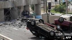 Pamje nga katastrofa e 2010-ës në Kili