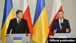 Петро Порошенко та Анджей Дуда, Польща, 2 грудня 2016 року
