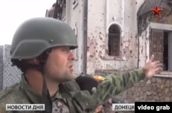 Кадр з сюжету: бойовик на території церкви