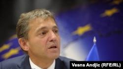 Shefi i delegacionit të BE-së në Serbi, Vincent Degert.