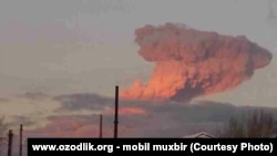 Виверження вулкана «Толбачик» на Камчатці, Росія 12 травня 2014 року (ілюстраційне фото)