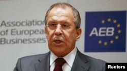 Sergei Lavrov gjatë fjalimit të sotëm në Moskë