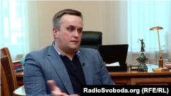 Nazar Kholodnytskiy had headed the Special Anti-Corruption Prosecutor's Office since 2015. (file photo)