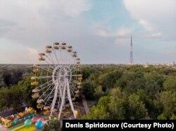 Городской парк культуры и отдыха. Уральск, 5 августа 2018 года.