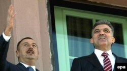 Abdullah Gül və İlham Əliyev, 5 noyabr 2008