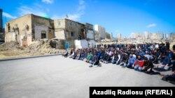 Hacı Cavad məscidi sökülməmişdən öncə