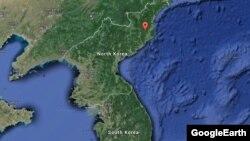 Ядерний полігон Пхунґ'єрі в Північній Кореї, де, як вважають, здійснили й нинішній вибух