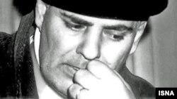 Iranian poet Ahmad Shamlou (1925-2000)