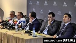 Ռոբերտ Քոչարյանի փաստաբանների ասուլիսը, Երևան, 4-ը օգոստոսի 2018 թ․