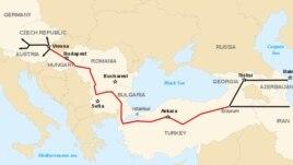 """Некоторые эксперты считают  """"Южный поток """" конкурентным проектом лоббируемого ЕС и США газопровода  """"Набукко """"..."""