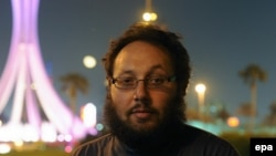 Steven Sotloff in Bahrain in 2010