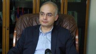 Руководитель парламентской фракции АНК Левон Зурабян, 2 мая 2016 г.