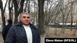 Охотинспектор Петр Ницык, пострадавший в результате схватки с браконьерами. Караганда, 31 октября 2019 года.