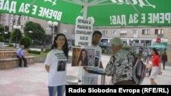Граѓанска иницијатива за потпишување петиција за решавање на сообраќајниот хаос во Куманово.