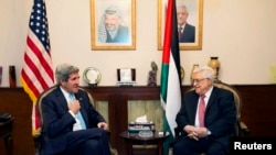 Встреча Джона Керри и Махмуда Аббаса в Аммане