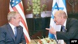 George W. Bush i Ehud Olmert u Jeruzalemu