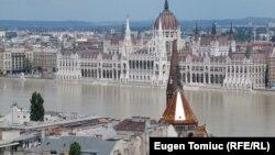 Pamje e një pjese të Budapestit