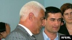 Ровшан Кябирли и Яшар Агазаде