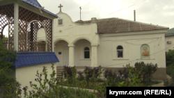 Turgenevka köyünde Şekure Abibulayevanıñ qartbabasına ait ev