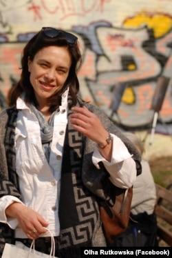 Ольга Рутковська, київська волонтерка й активістка