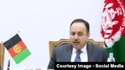 د افغانستان د مالیې وزیر اکلیل حکیمي