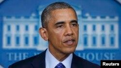 ԱՄՆ-ի նախագահ Բարաք Օբաման ելույթ է ունենում Իրաքի իրավիճակի վերաբերյալ, Վաշինգտոն, 19-ը հունիսի, 2014թ․