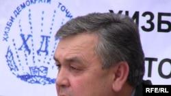 Маъсуд Собиров, председатель Демократической партии Таджикистана, 3 марта 2010 года.