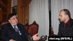 عبدالرحیم وردک کاندید ریاست جمهوری در جریان مصاحبهء اختصاصی با سید فتح محمد بها خبرنگار رادیو آزادی در کابل
