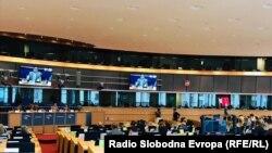 Обраќање на министерот Димитров пред комисијата за надворешни работи на ЕУ