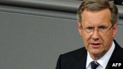 Претседателот на Гермнаија Кристијан Вулф