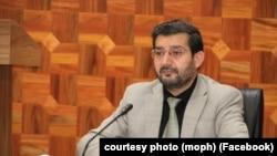 د عامې روغتیا وزارت مالي او اداري مرستیال شفیقالله شهیم