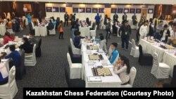 Үндістанның Ахмедабад қаласында өтіп жатқан 16 жасқа дейінгілер арасындағы шахматтан Дүниежүзілік олимпиада.