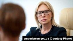Уповноважений Верховної Ради України з прав людини Людмила Денісова