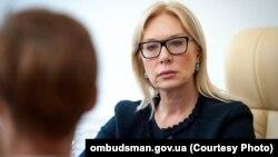Уповноважена Верховної Ради з прав людини Людмила Денісова