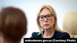 Ukraina Yuqarı Radasınıñ insan aqları vekâletlisi Lüdmila Denisova