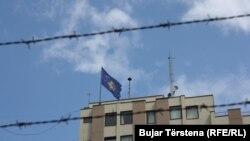 Flamuri i Kosovës, fotografi ilustruese.