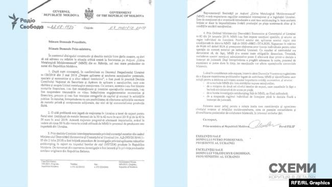 У листі до керівництва України Павел Філіп просить виключити «ММЗ» із санкційного списку