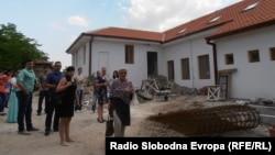 Некогашното училиште во Старо Нагоричaнe.