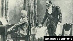 Федор Шаляпин в роли Сальери (1898)