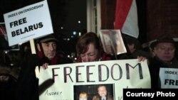 Bjellorusët kërkojnë lirimin e të arrestuarve...