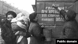 Счастье снятия блокады. Ленинград, 1944 год