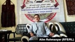 نوراحمد احمدی، رئیس انجمن قالینبافان