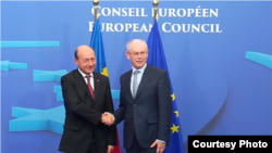 Astăzi la Bruxelles (Foto: Serviciul de Presă al președinției române)