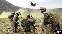 Илустрација: Американски војници во Авганистан.