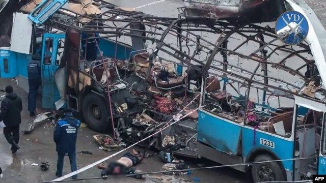 The Volgograd attacks killed 34 people