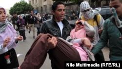 تظاهرات طرفداران محمد مرسی مقابل وزرات دفاع مصر