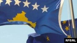 Zastave Kosova i EU