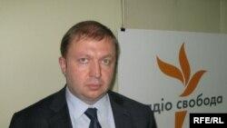 Василь Горбаль у студії Радіо Свобода