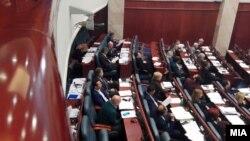 Архивска фотографија - Седница во Собрание за именување нови министри во Владата на РМ.